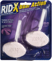 Rid-x® Dual Action Cling Lavender Fields Septic System Treatment 2 ct Pack