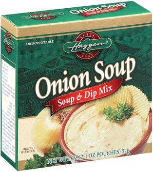 Haggen Onion 2 Ct Soup & Dip Mix 2 Oz Box