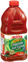 Stater Bros. Spicy  Vegetable Juice Cocktail 64 Fl Oz Plastic Bottle