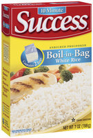 Success Boil-In-Bag White 2 Ct Rice 7 Oz Box