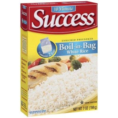 Success Boil-In-Bag White 2 Ct Rice 7 Oz Box