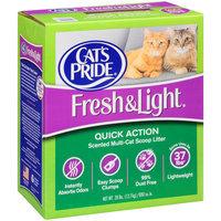 Cat's Pride® Fresh & Light® Quick Action Scented Multi-Cat Scoop Litter 28 lb. Box