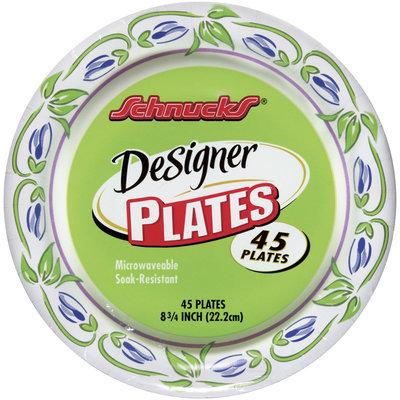 Schnucks Designer 8 3/4 In Plates 45 Ct