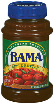 Bama Spreads Original Recipe, Modified 6/2/07 Apple Butter 29 Oz Plastic Jar