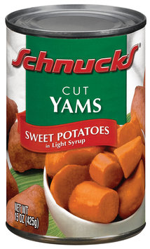 Schnucks Sweet Potatoes In Light Syrup Yams Cut 15 Oz Can