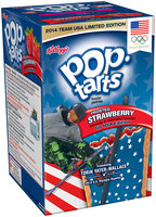Kellogg's® Pop-Tarts® Go USA Edition Frosted Strawberry Toaster Pastries 8 ct Box