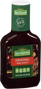 Springfield® Original Barbeque Sauce 18 oz. Bottle
