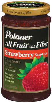 Polaner All Fruit Strawberry Seedless Fruit Spread 15.25 Oz Jar