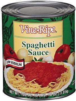 Vine-Ripe® Spaghetti Sauce 106 oz.
