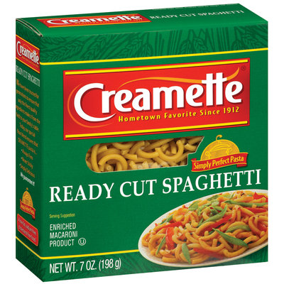 Creamette  Ready Cut Spaghetti 7 Oz Box