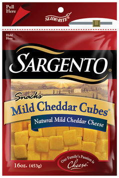 Sargento® Natural Mild Cheddar Cubes® Cheese Snacks
