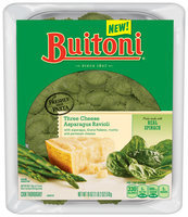 Buitoni® Three Cheese Asparagus Ravioli 18 oz. Tray