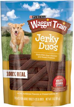 Purina Waggin' Train Jerky Duos Dog Treats 3 oz. Pouch