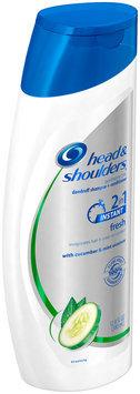 Fresh Head and Shoulders Instant Fresh 2in1 Dandruff Shampoo and Conditioner 12.8 fl oz
