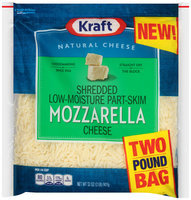 Kraft Shredded Mozzarella Cheese 32 oz. Bag