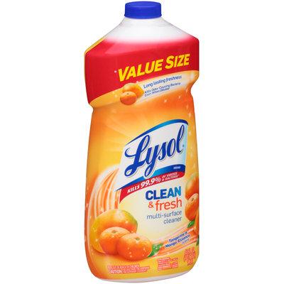 Lysol® Clean & Fresh Tangerine & Mango Essence Scent Multi-Surface Cleaner 48 fl. oz. Bottle