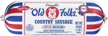 Purnell's Old Folks Spicy-Medium Country Sausage