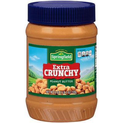 Springfield® Extra Crunchy Peanut Butter