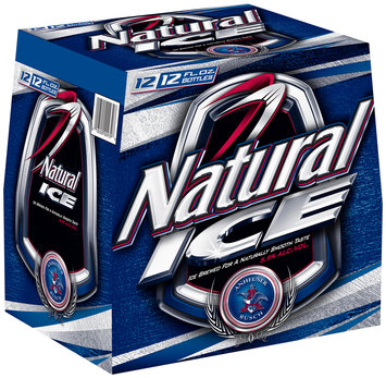 Natural Ice 12 Oz Beer 12 Pk Glass Bottles