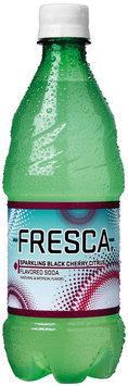Fresca Black Cherry Soda 20 oz Plastic Bottle