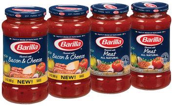 Barilla® Meat/Bacon & Cheese Pasta Sauce 4-24 oz. Jars