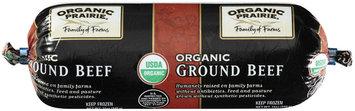 Organic Prairie® Ground Beef 12 oz