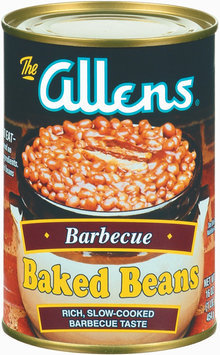 The Allens Barbecue Baked Beans 16 Oz Can