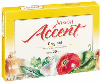 Accent Premium Quality 0.17 Oz Seasoning 20 Ct Box