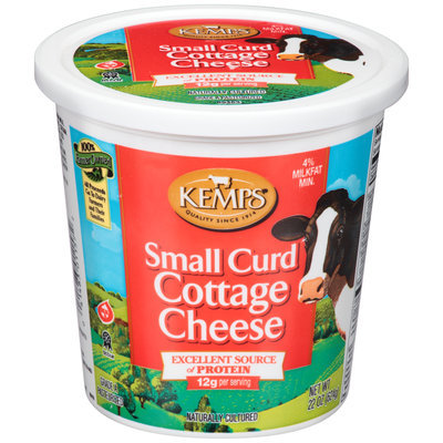 Kemps® 4% Small Curd Cottage Cheese 22 oz. Tub