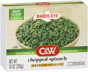 Birds Eye® C&W® Chopped Spinach 10 oz. Box