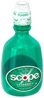 Scope Classic Original Mint Flavor Mouthwash 1.5L Bottle