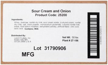 Land O' Lakes Sour Cream and Onion