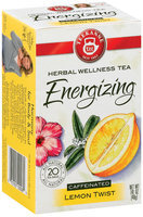 Teekanne Energizing Lemon Twist Caffeinated 1.41 Oz Tea Bags 20 Ct Box