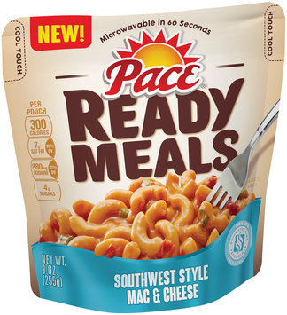 Pace® Southwest Style Mac & Cheese Ready Meals 9 oz. Pouch