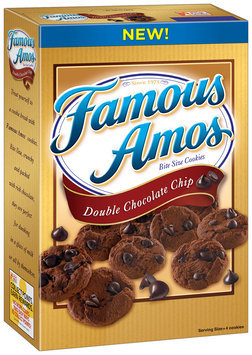 Famous Amos® Double Chocolate Chip Cookies 12.4 oz. Box