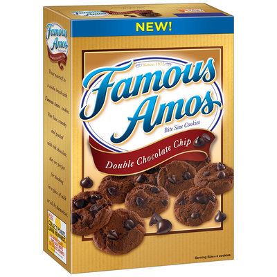 Famous Amos® Cookies Double Chocolate Chip