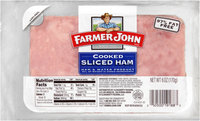Farmer John® Cooked Sliced Ham 6 oz. Pack