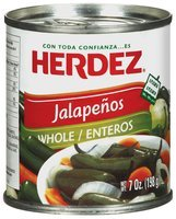 Herdez® Whole Jalapenos 7 oz. Can