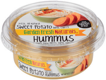 Garden Fresh Natural® Sweet Potato with Curry Hummus 8 oz. Tub