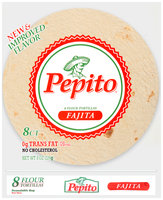 Pepito® Fajita Flour Tortillas 8 oz. Bag
