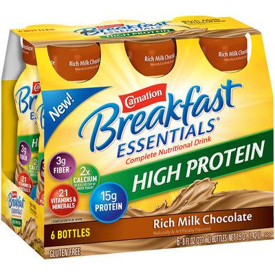 Carnation Breakfast Essentials® High Protein Rich Milk Chocolate Complete Nutritional Drink