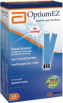 Optiumez In Vitro Diagnostic Use 50 Ct  Test Strips Not For Retail Sale    Box