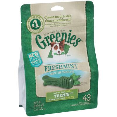 Greenies® Freshmint Teenie® Dog Treats 12 oz. Bag