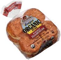 Barowsky's® Certified Organic Wheat Hamburger Buns 8 ct Bag