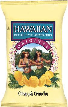 Hawaiian™ Kettle Style Potato Chips Original Potato Chips 8 Oz Bag