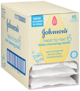 Johnson's® Head-to-Toe® Baby Cleaning Cloths