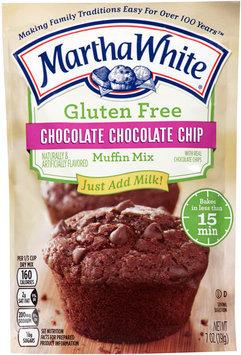 Martha White® Gluten Free Chocolate Chocolate Chip Muffin Mix 7 oz. Pouch