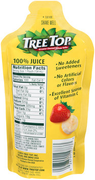 Tree Top® Banana Strawberry Fruit Smoothie 4.54 fl. oz. Pouch