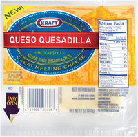 Kraft Natural Cheese Queso Quesadilla Melting Cheese 12 Oz Well