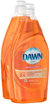 Ultra Dawn Ultra Dishwashing Liquid Antibacterial Orange 21.6 Oz